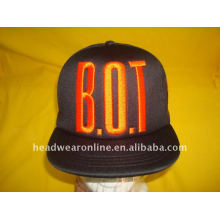 hip pop snapback caps with embroidey logo
