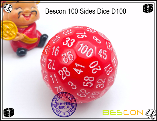 Bescon 100 Sides Dice D100-1