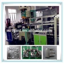 aluminium foil pan press machine 45tons with two cavity