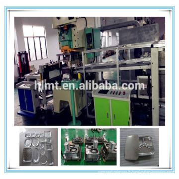 Machine à presse à papier en aluminium 45tons avec deux cavités