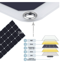 Single Crystal Flexible Solar Jopo