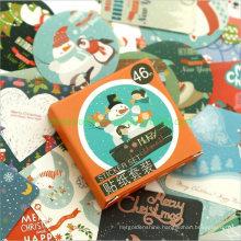 Christmas Greeting Sealing Sticker Decorating Books