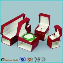 Personnaliser l'ensemble de coffret d'emballage de bijoux de luxe