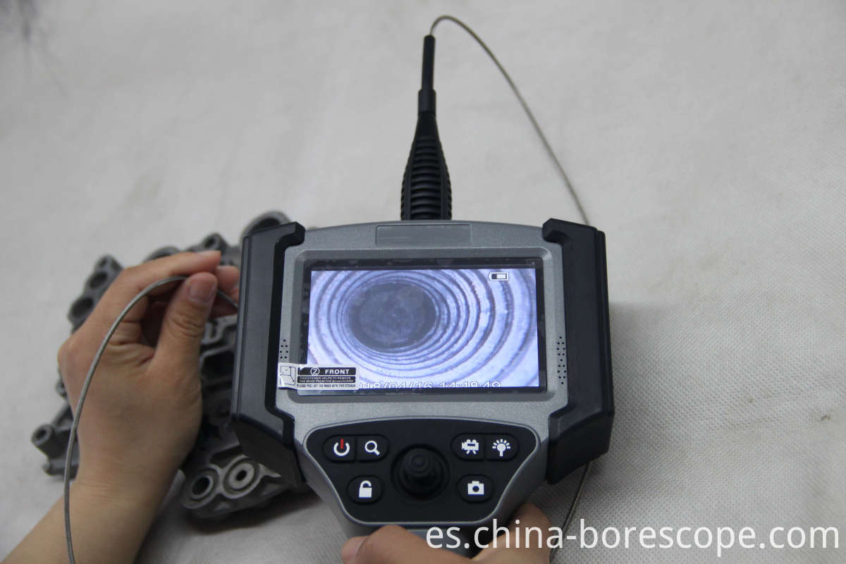 Industrial borescope camera