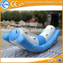 Crazy inflatable water park toys, water seat, flying banana boat