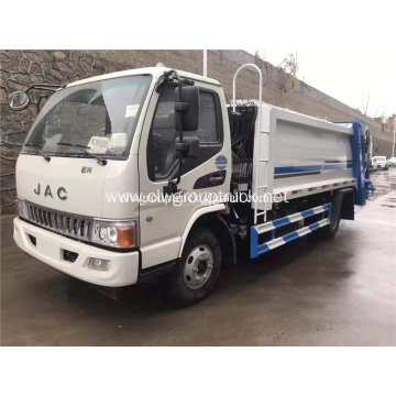 JAC 9cbm compressed garbage truck for sale