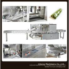 Máquina de embalagem de travesseiro horizontal de alta velocidade para vegetais e frutas