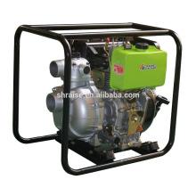 Bomba de alta pressão portátil de 3 polegadas, bomba de irrigação agrícola, bomba de cilindro único