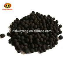Anthracite coal sphericity activated carbon gas treatment