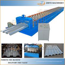 Contruction Usado Metal Acero Buen Precio Pisos Panel de Cubierta Equipo de Rolling