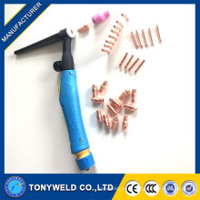 tig welding torch consumables accessories kits for WP-9/20/25