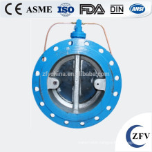 tiny drag slow closing silent butterfly flow control check valve