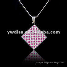 Wholesale Attractive Stainless Steel Pendant Necklace