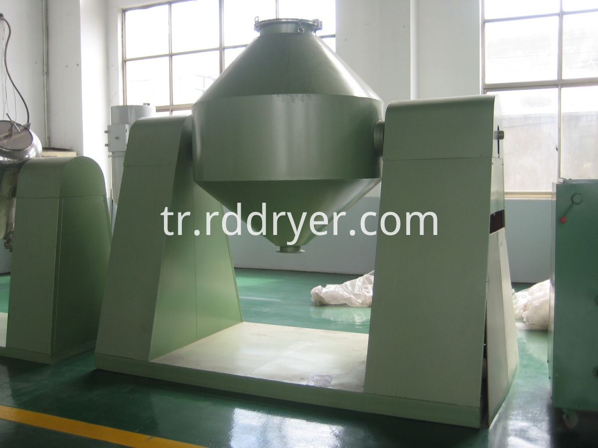 double conical mixer