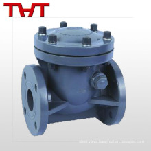 inline mini swing plastic spring vertical check valve pvc / dn15-non return valve