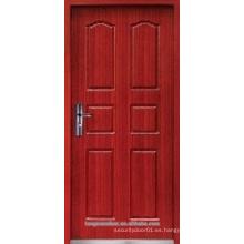 Puerta ignífuga de madera, puerta de fuego, puerta de entrada de fuego