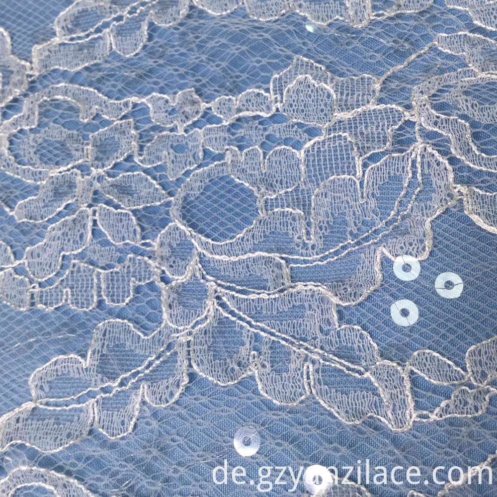 Wholesale French Chantilly Lace Fabric
