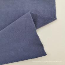 Tissu côtelé en coton et spandex
