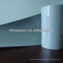 Película de transferencia de calor elástica de plata reflectante alta