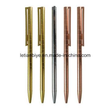 Розовое золото тонкая металлическая ручка (LT-D026)
