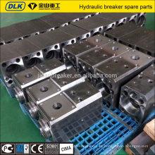 cilindro hidráulico del rompedor / martillo hidráulico de las herramientas de fractura del taladro de la roca