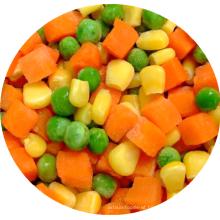 Hot selling Frozen Carrot Corn Green Peas frozen mixed vegetables frozen vegetables