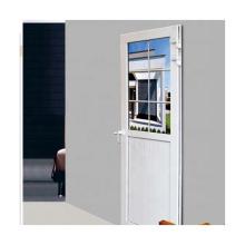 Diseño europeo de lujo con media puerta exterior para jardín.