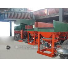 Máquina de Jig de separador de ouro de alta recuperação