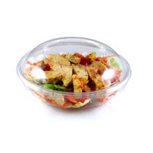 Bol à salade jetable avec couvercle