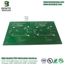 4-layers 1oz Multilayer PCB Immersion Silver BentePCB