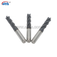 4 Flute HRC55 Cutting Tool Solid Carbide End Mill for CNC Machining