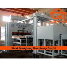 1830*3660mm Fully automatic melamine press line/ laminated panels hot press machine