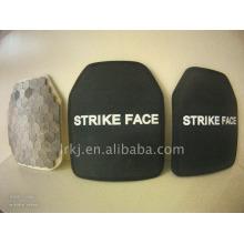 Placa de armadura de painel à prova de balas NIJ III / IV