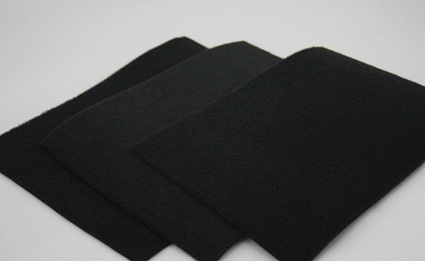 Black Coated Polyester Stitchbond Nonwoven For Mattress