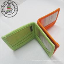 Carteira de cânhamo nova moda de alta qualidade 2 dobras