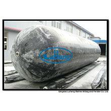Airbag de goma natural