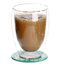 12 OZ-Double-Layer-Glas-Tasse