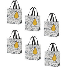 Promotional reusable laminated pp non woven promotional grocery bag