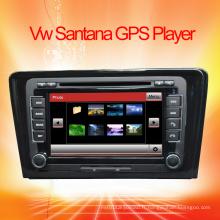 Lecteur DVD de voiture pour VW Santana Navigation GPS avec USB / iPod