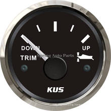 "2"" 52mm Trim Gauge 0-190ohm Down-up with Backlight"