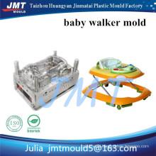 Convenient folding & unfolding slide prevent block baby walker