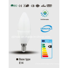 Dimmable LED Candle C37-Sbl