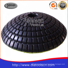 Diamond Pad: 100 mm Diamond Convex Polishing Pad