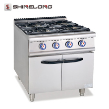 Universal 900 Series Gas Range With 4-Burner with Cabinet heavy duty gas range
