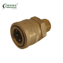 Hydraulic quick coupler for washer machine