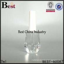 7ml clear glass nail gel bottle factory