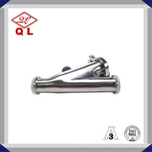 Sanitary Ss316 or Ss304 Stainless Steel Y Filter