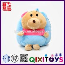Custom made small cute kid backpack bear design toys