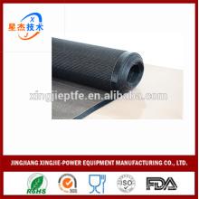 printing machine conveyor belt food drying PTFE coated fiberglass open mesh