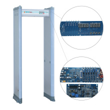 Super Sensitivity Razor Blade Inspection Archway Detector de metais